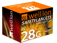 28G SafetyLancets 25Stk:  (© )